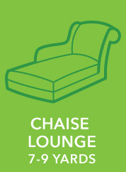 Chaise Lounge. 7-9 Yards.