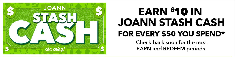 JOANN Stash Cash