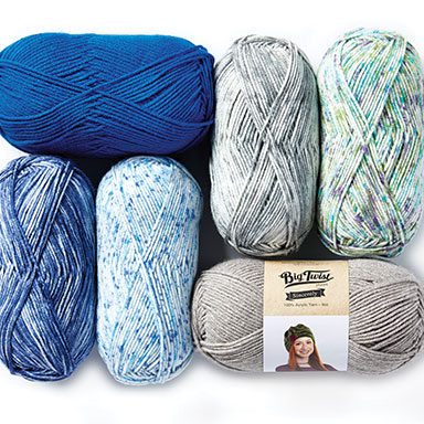 2 for $5 Big Twist Sincerely & Value Yarns