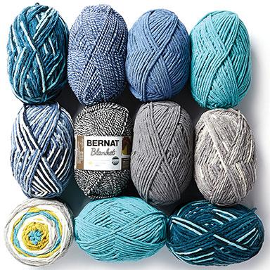 6.99 ea Bernat Blanket & Baby Blanket Yarn