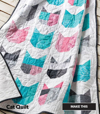 How to Make a Cat Quilt. Make This.