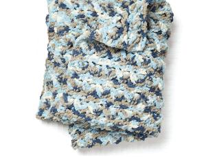 Crochet Blanket Yarn Lapghan.