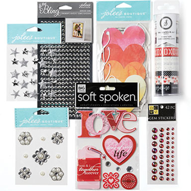 40% off Embellishments, Stickers, Journaling & Designers' Papercrafting Collections