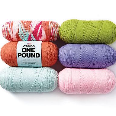 6.99 ea Caron One Pound or Jumbo Yarn