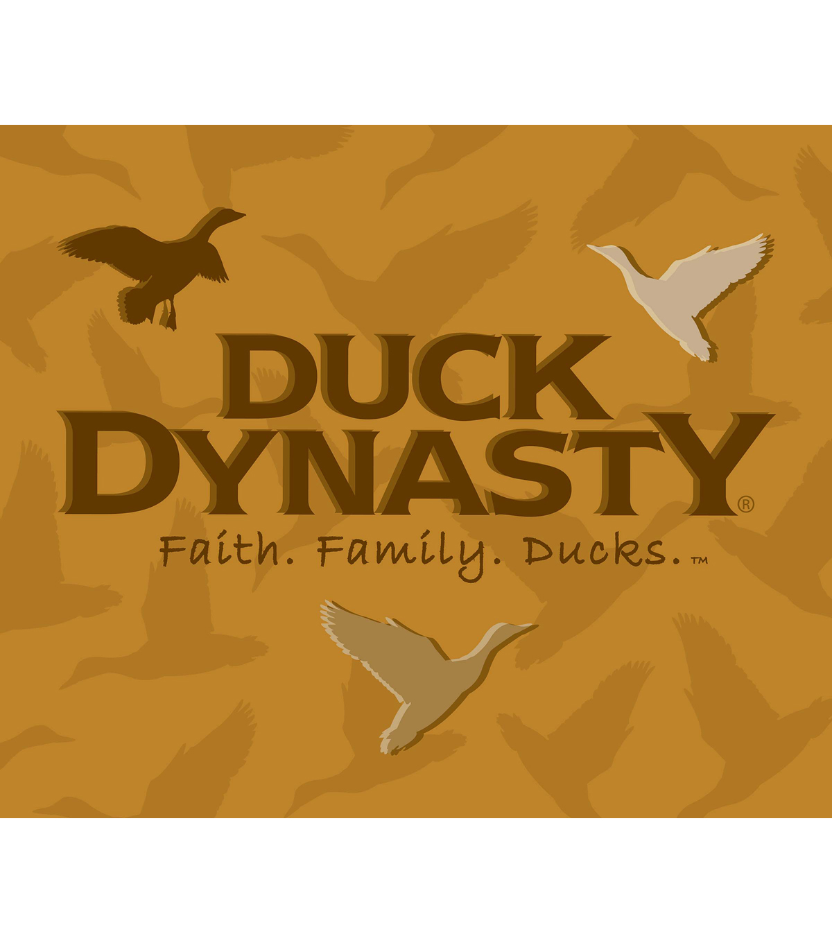 Duck Dynasty Family Throw