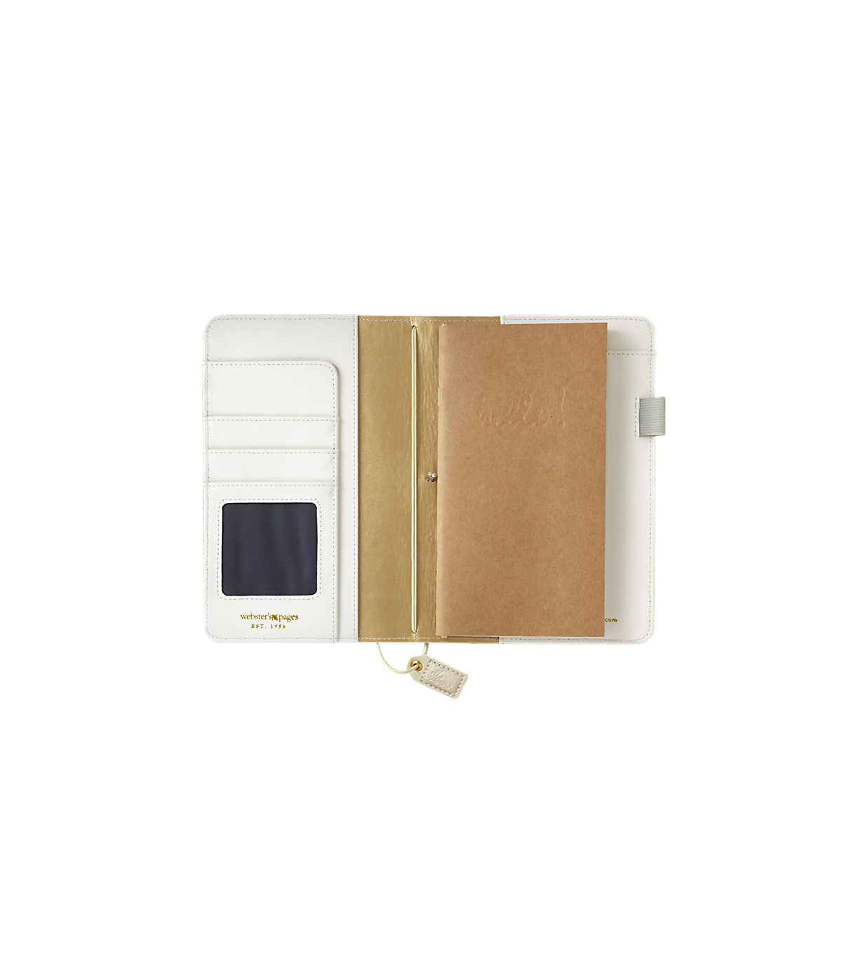 Webster\u0027s Pages Color Crush Travelers Notebook Planner-Champagne