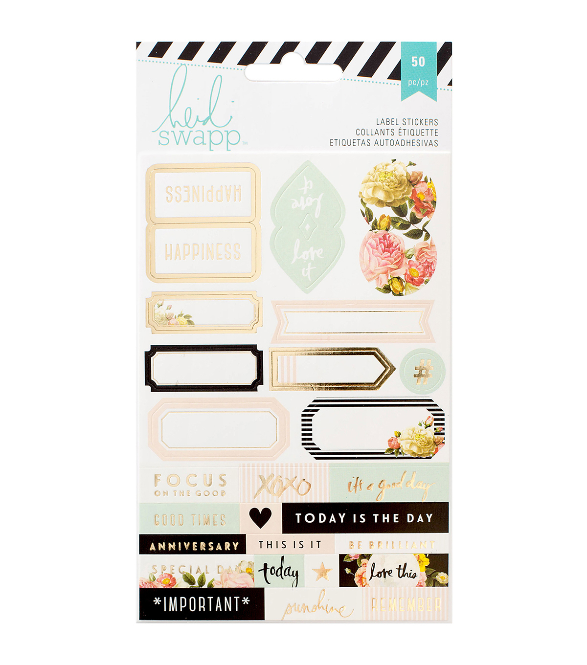 Heidi Swapp Memory Planner Labels 2/Sheets-