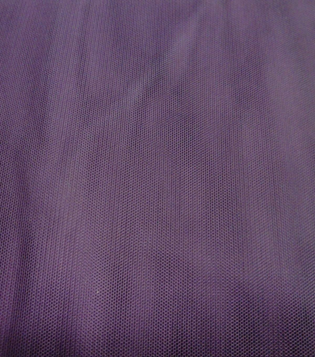 Casa Collection Mesh Fabric-Eggplant
