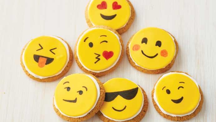 Kids Emoji Cookies