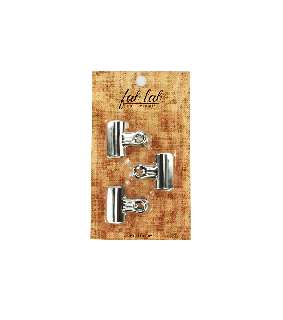 Fab Lab™ Pack of 3 Metal Clips