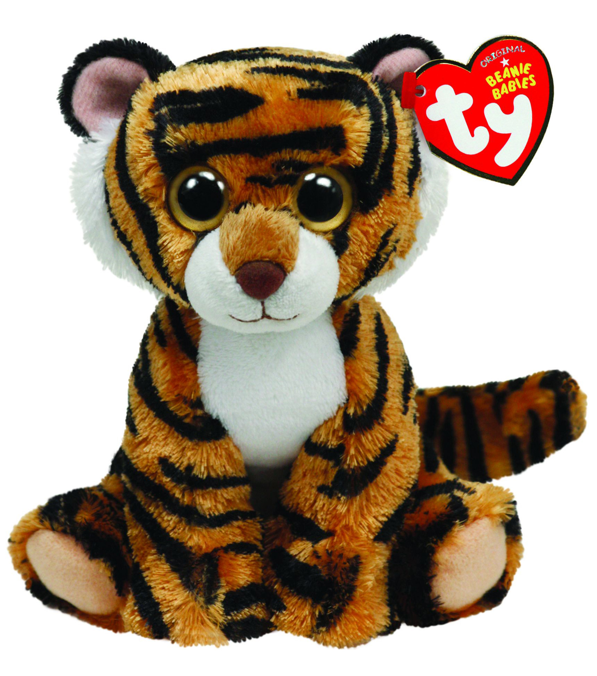 Ty Beanie Baby Stripers Plush Tiger