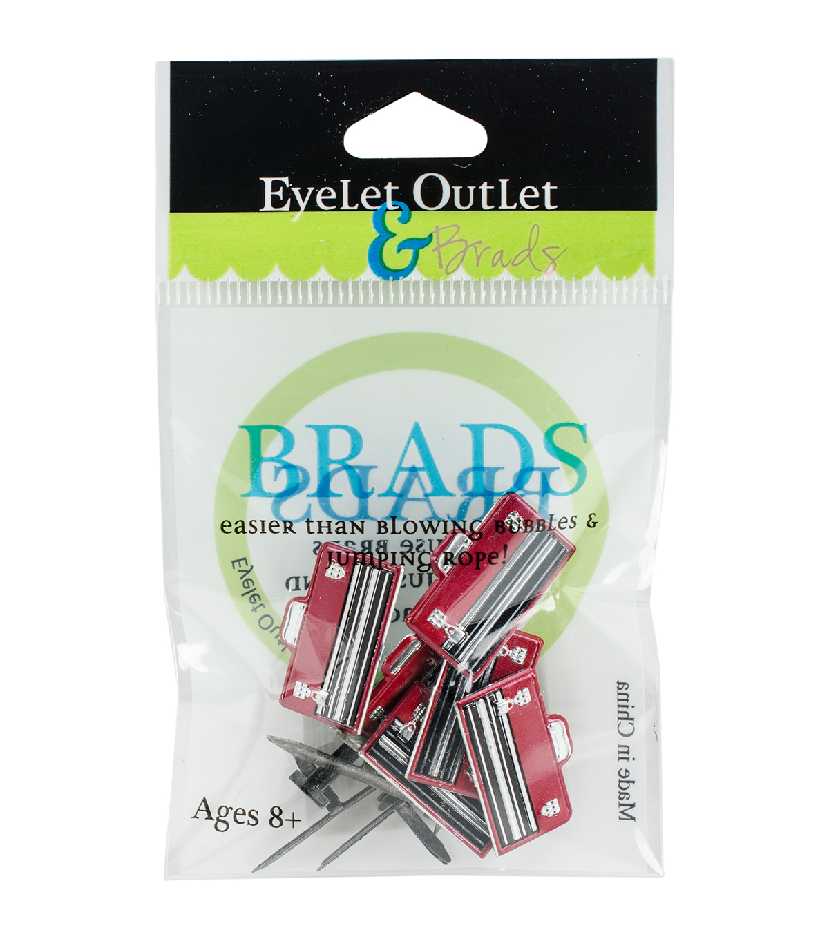Eyelet Outlet 12ct Shape Brads-Tool Box & Nails