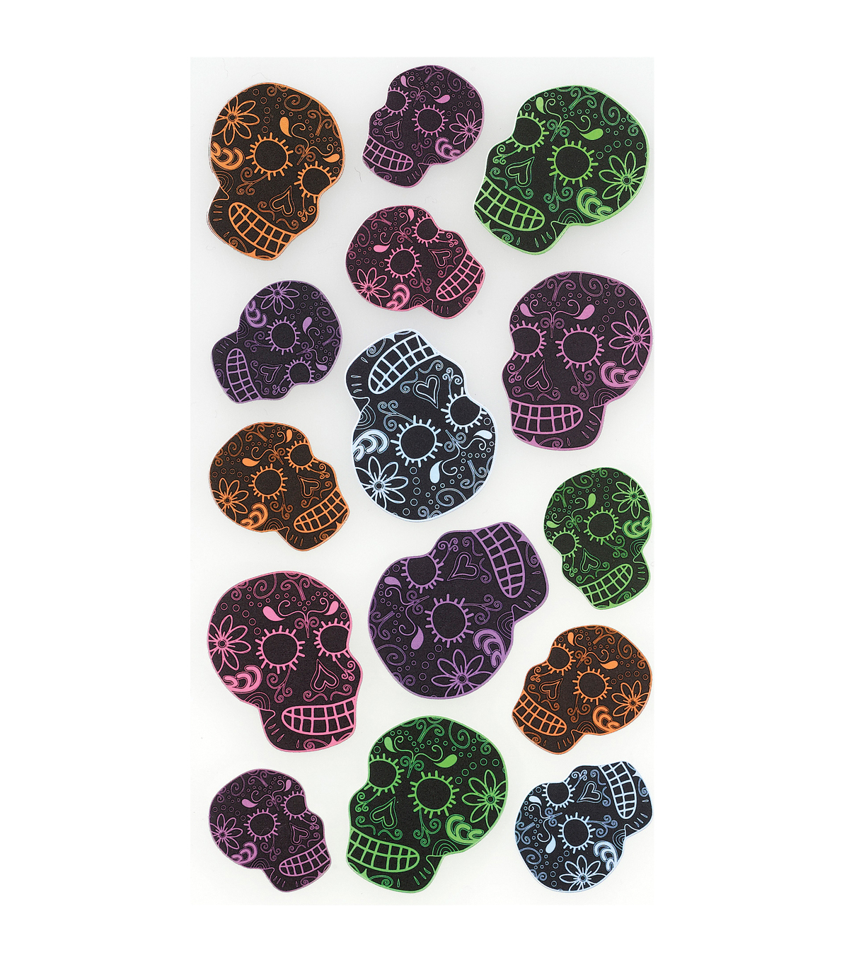 Sticko Classic Stickers Scatter Skulls