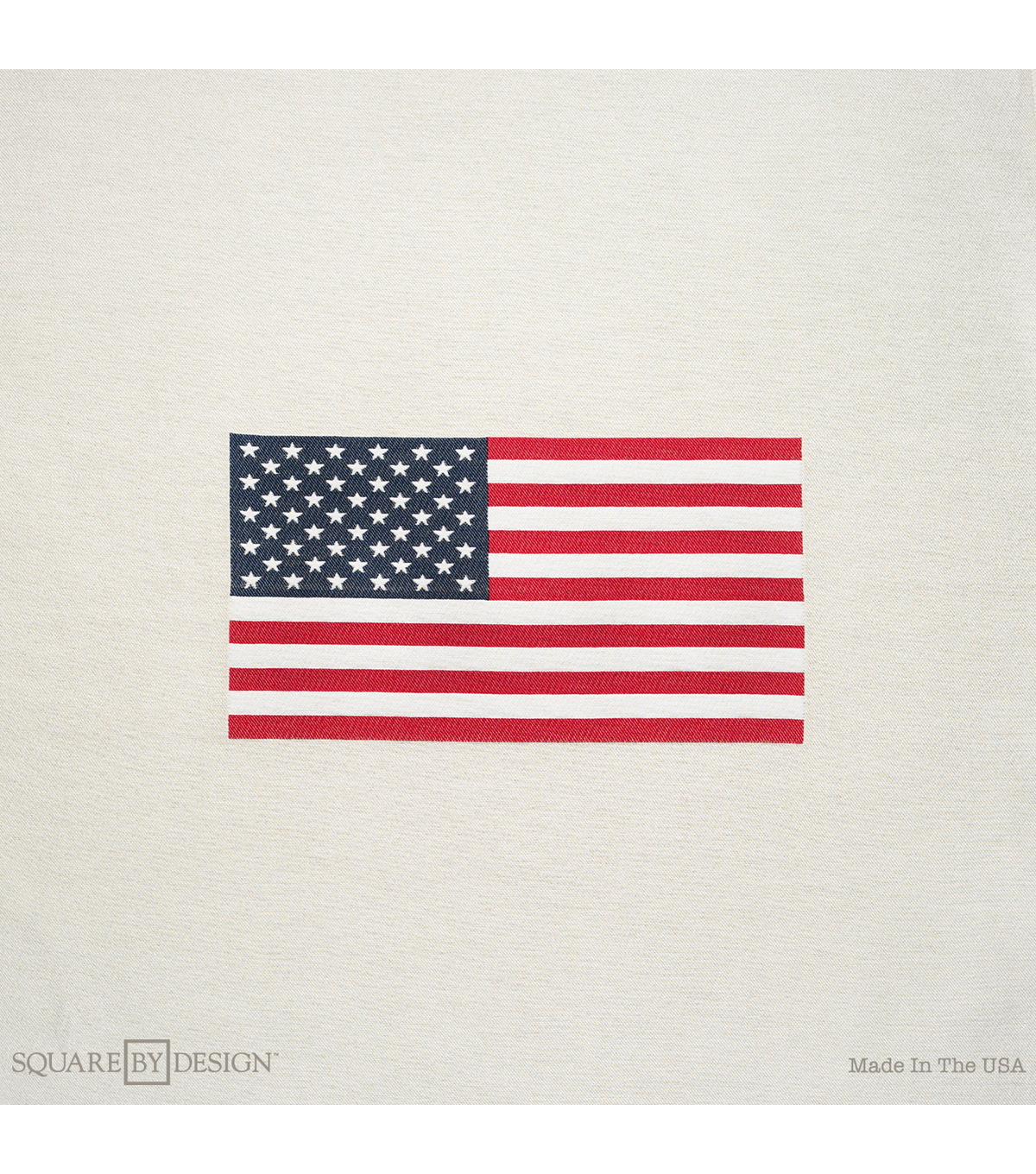 "Square By Design®-Flag 25"" Woven Square"
