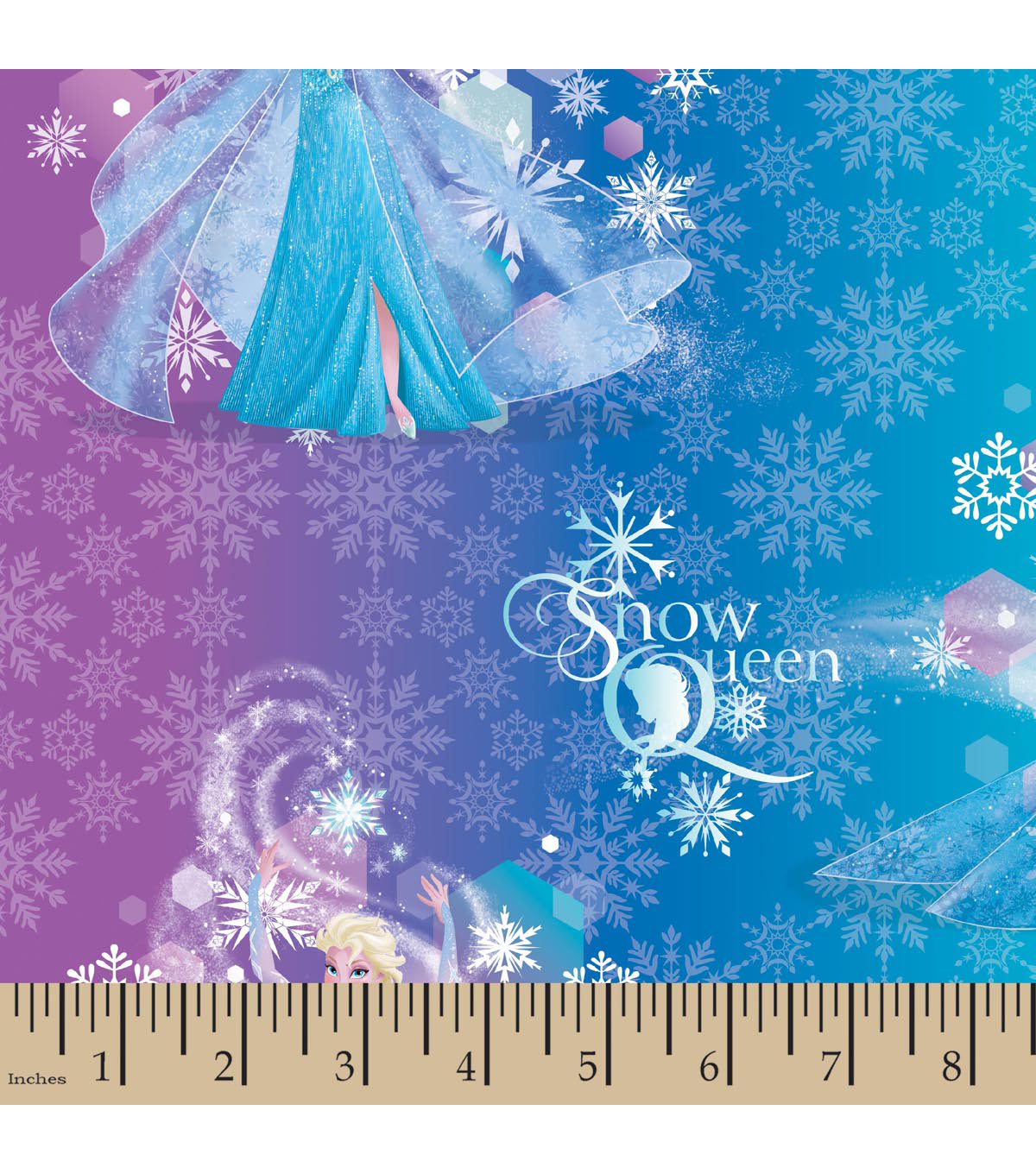 Disney® Frozen Organza Fabric 56\u0022-Snow Queen