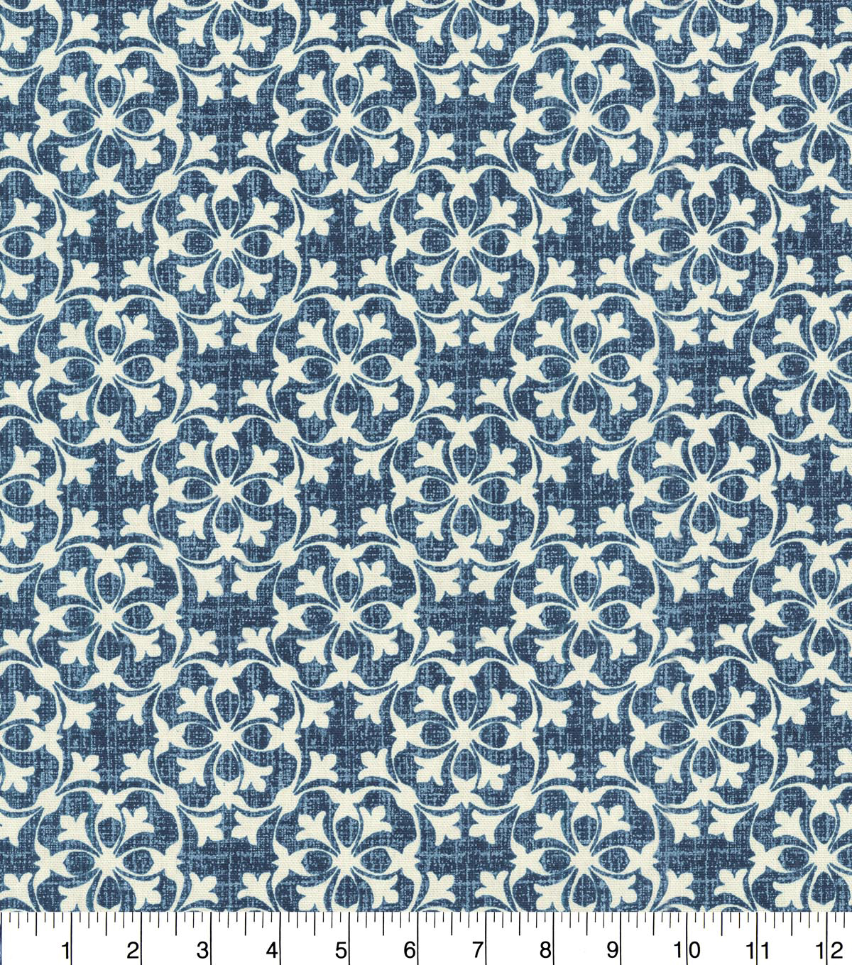 Waverly Upholstery Fabric 54''-Midnight Courtyard