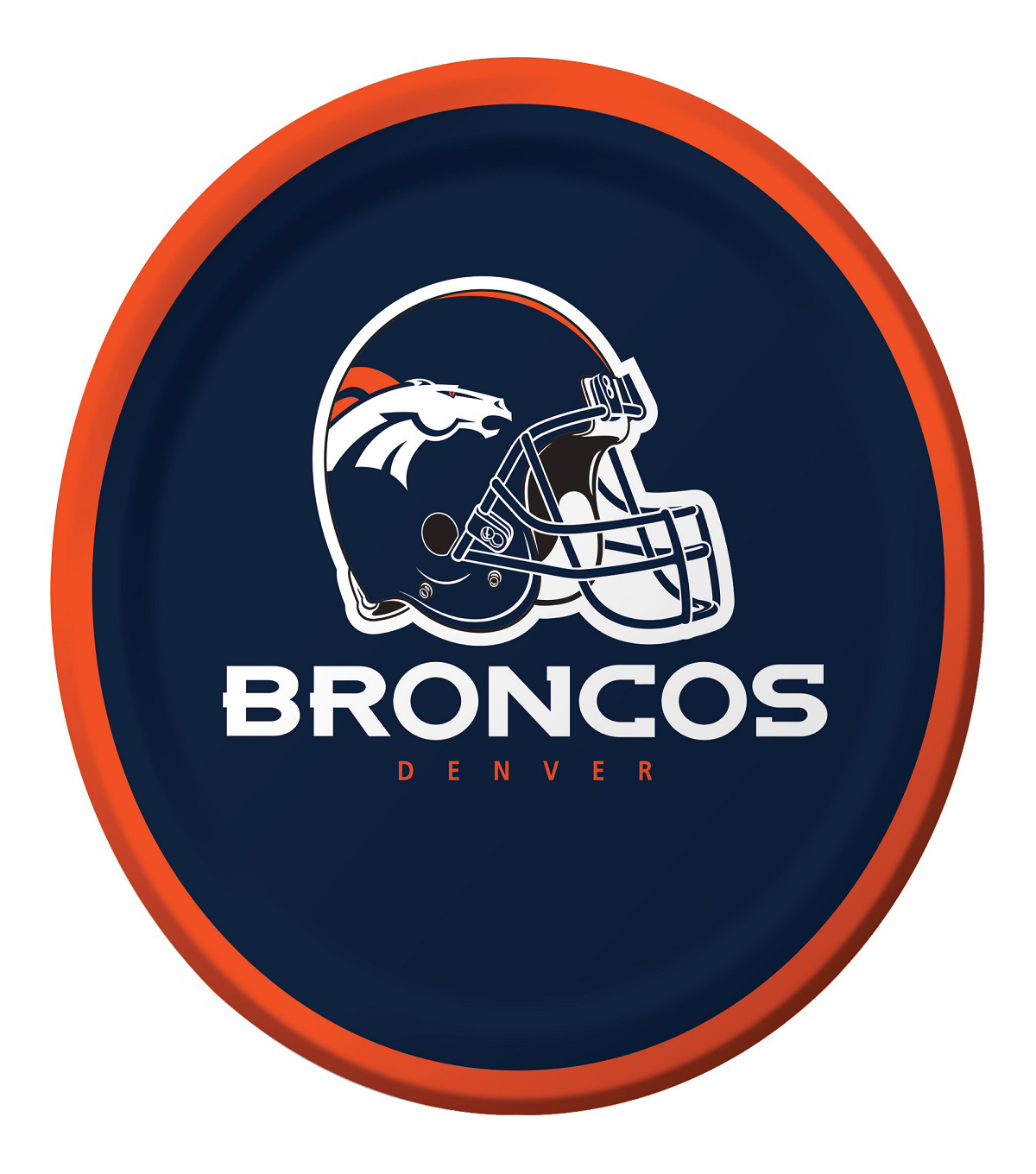 Denver Broncos Luncheon Plates
