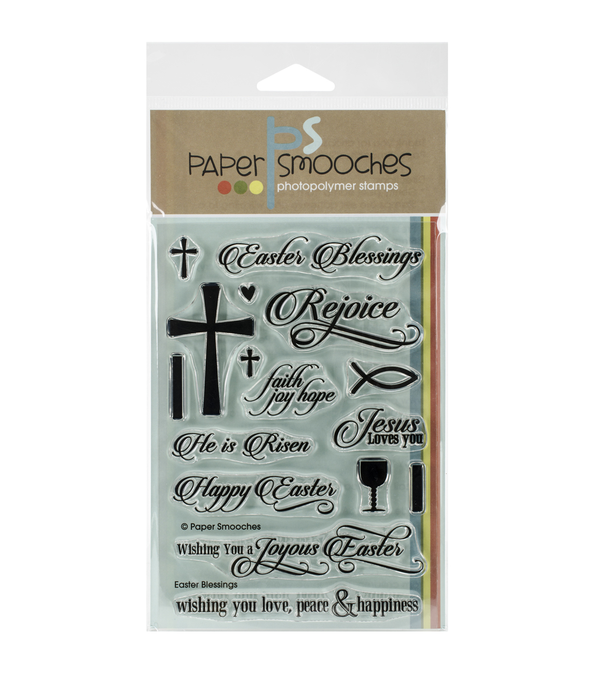 Paper Smooches Easter Blessings Clear Stamps