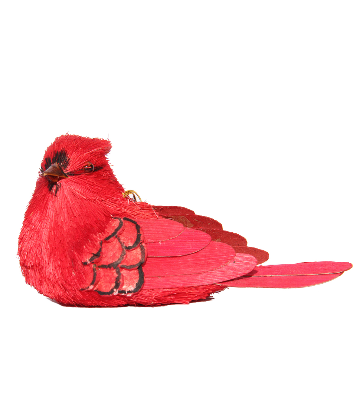 Blooming Holiday Large Hanging Cardinal