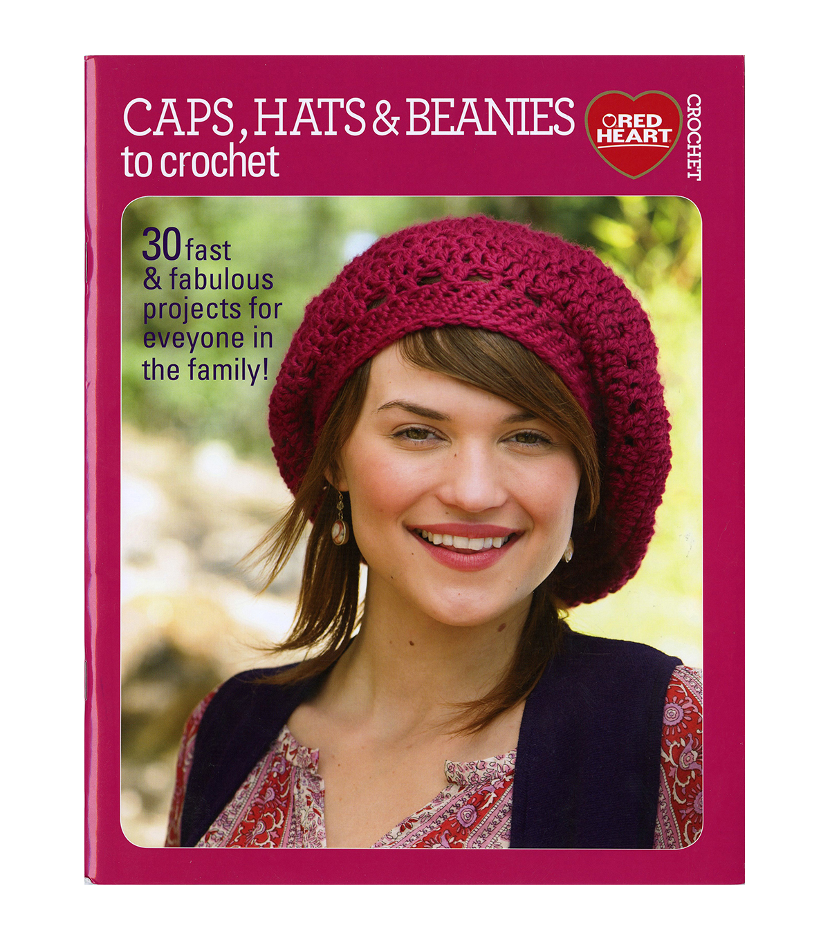 I Heart Knitting Caps & Hats Book