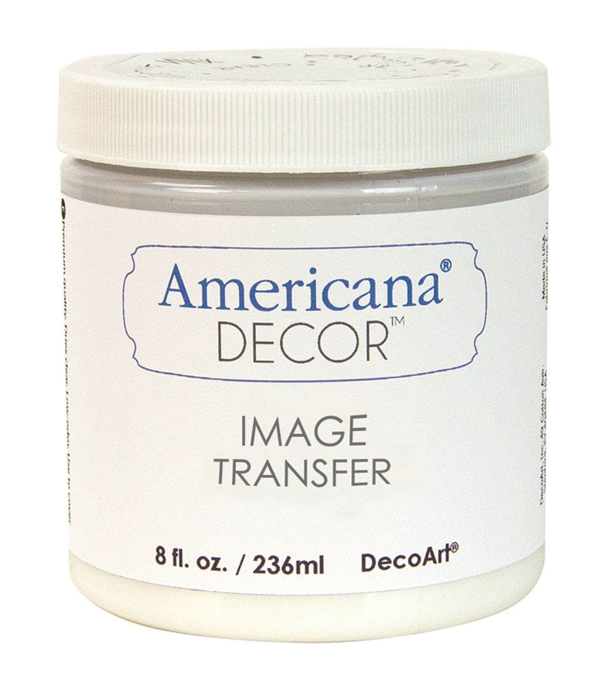 DecoArt Clear - Image Transfer Medium 8oz