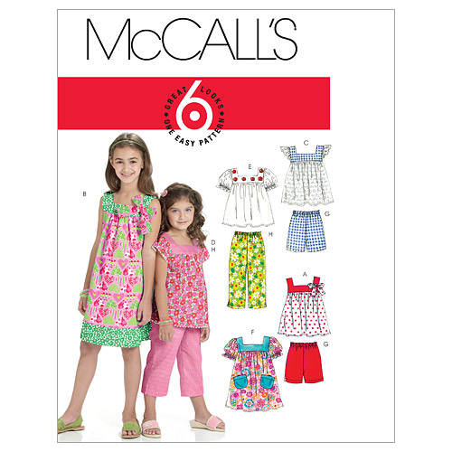 McCall\u0027s Girls Casual-M6022