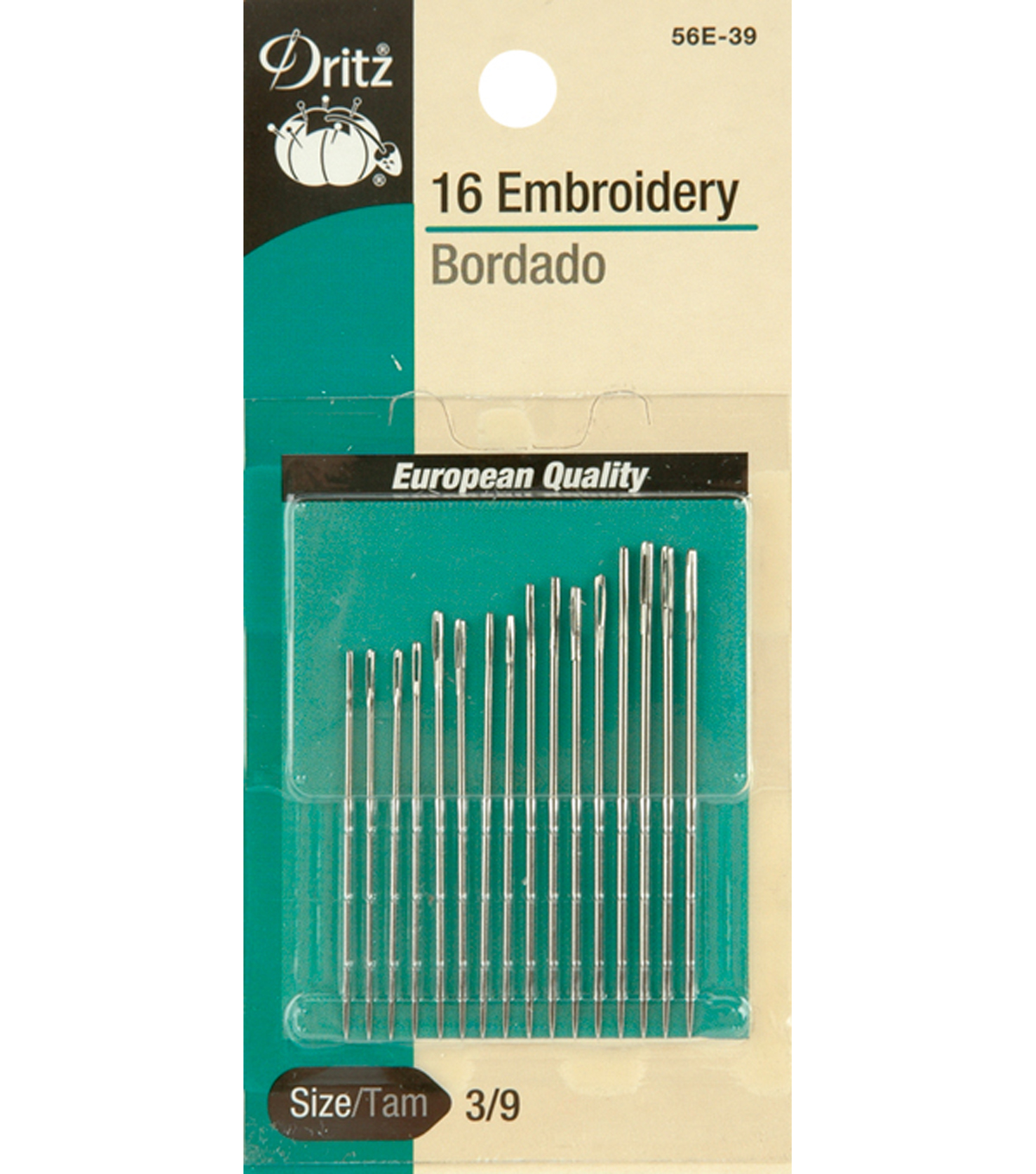 Dritz Embroidery Hand Needles