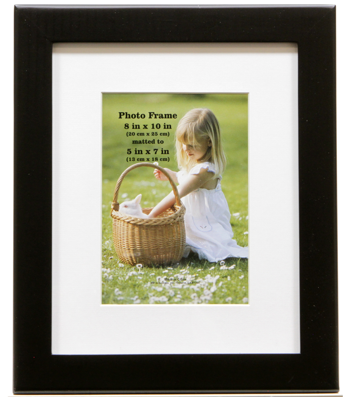 Flat Profile Tabletop Frame 8X10-Black