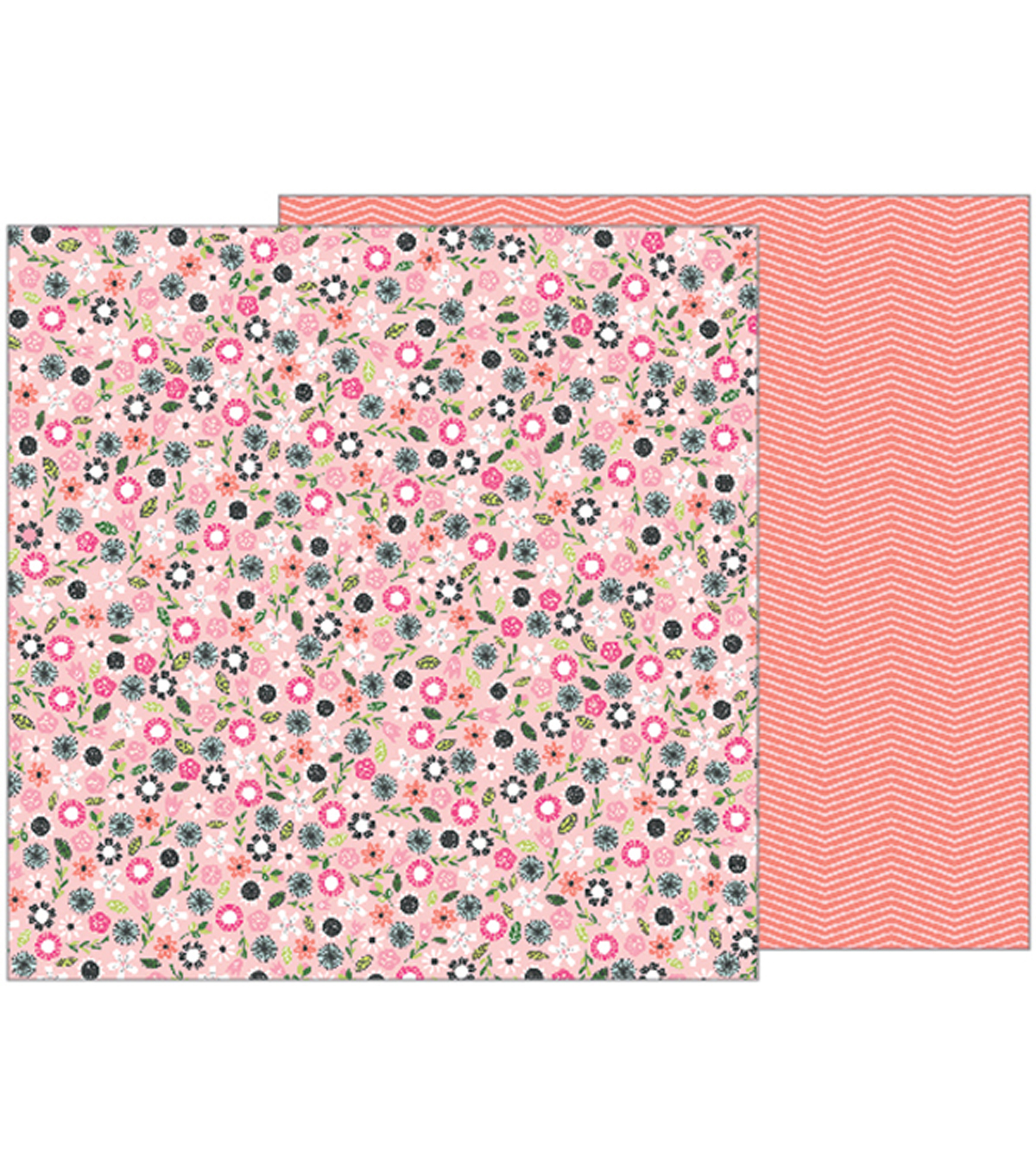 Girl Squad Double-Sided Cardstock 12\u0022X12\u0022-Fri-Yay