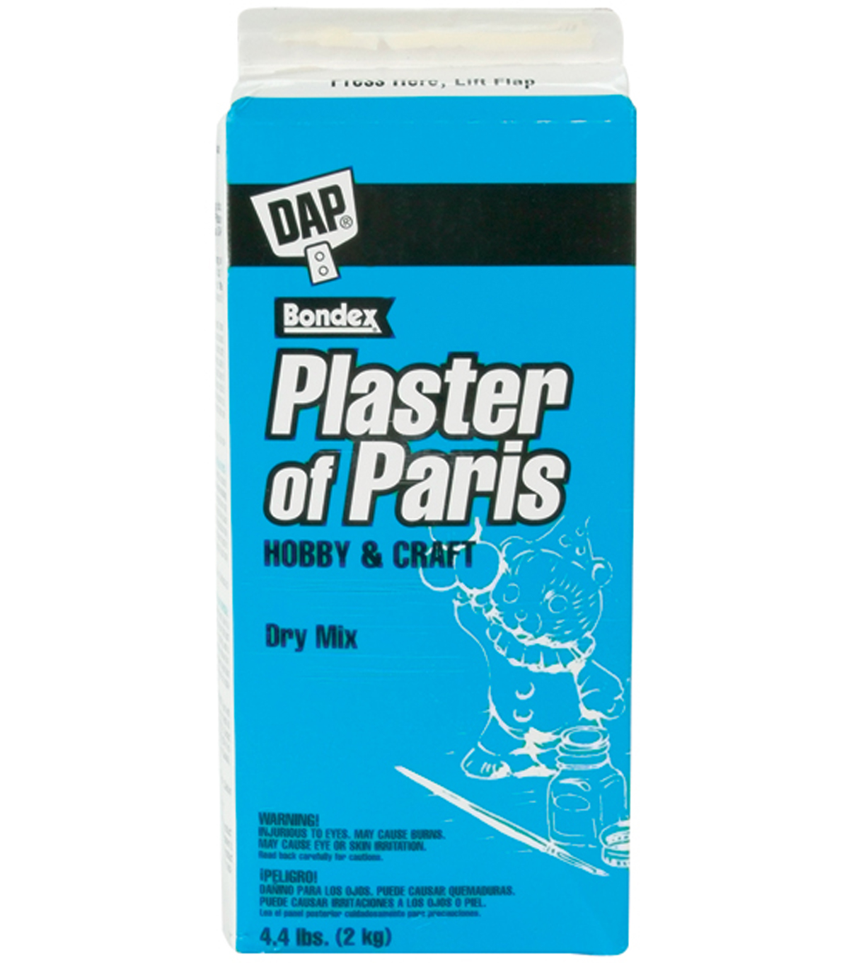 DAP Plaster Of Paris 4.4lb Box-White