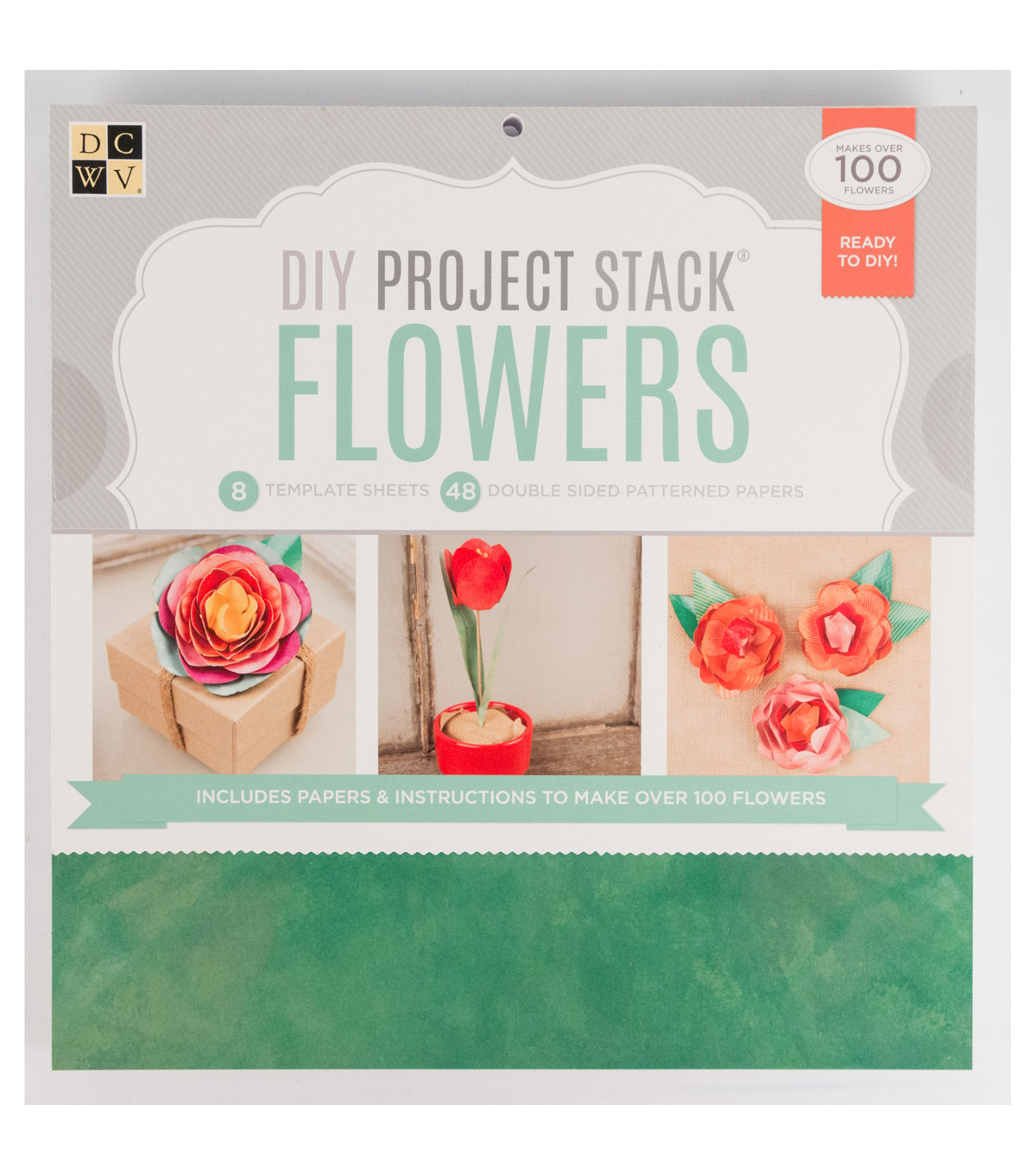 DCWV DIY Project Stack: Flowers