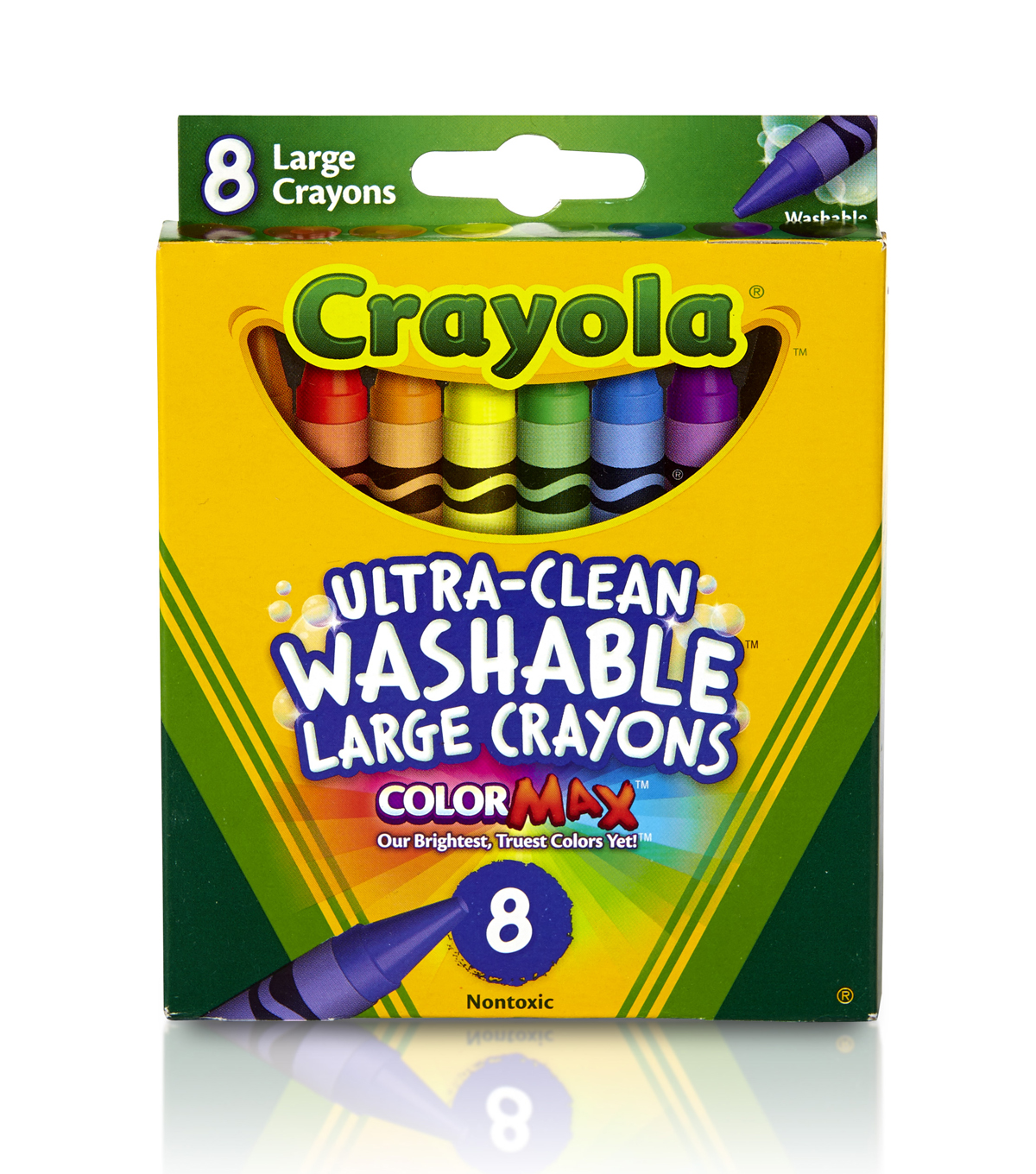 Crayola Growing Kids Large Crayons-8/Pkg