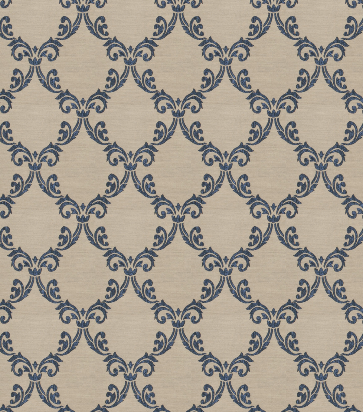 Eaton Square Print Fabric 54\u0022-Fraternity/Midnight
