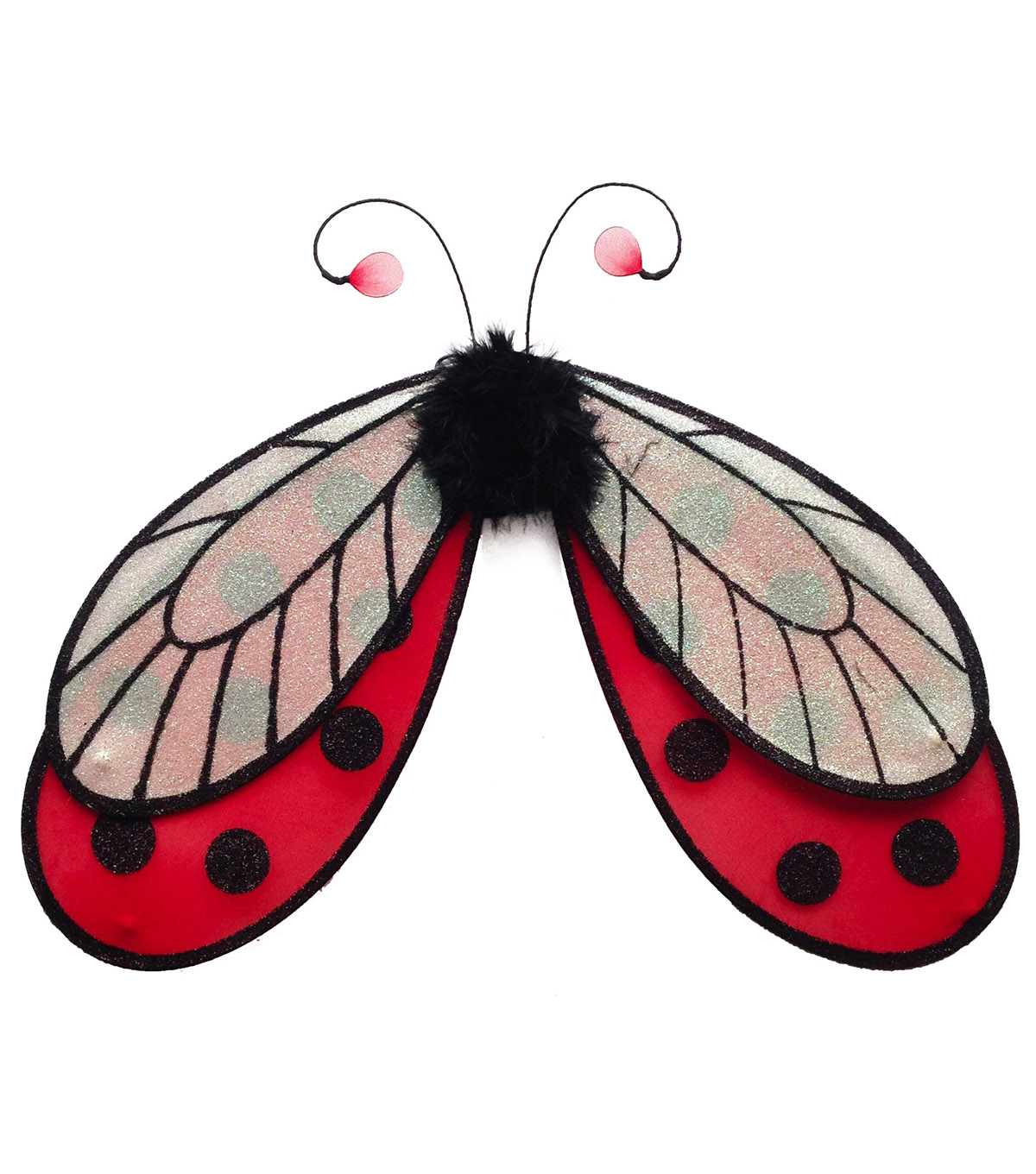 Maker\u0027s Halloween Child Wings-Ladybug
