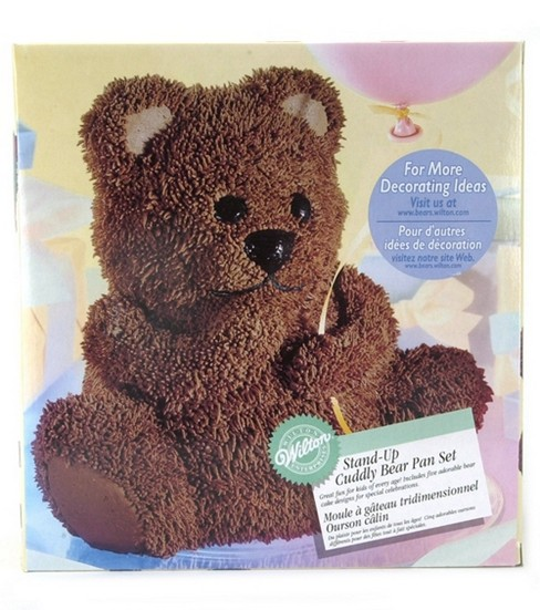 Wilton® Stand Up Cuddly Bear Cake Pan Set