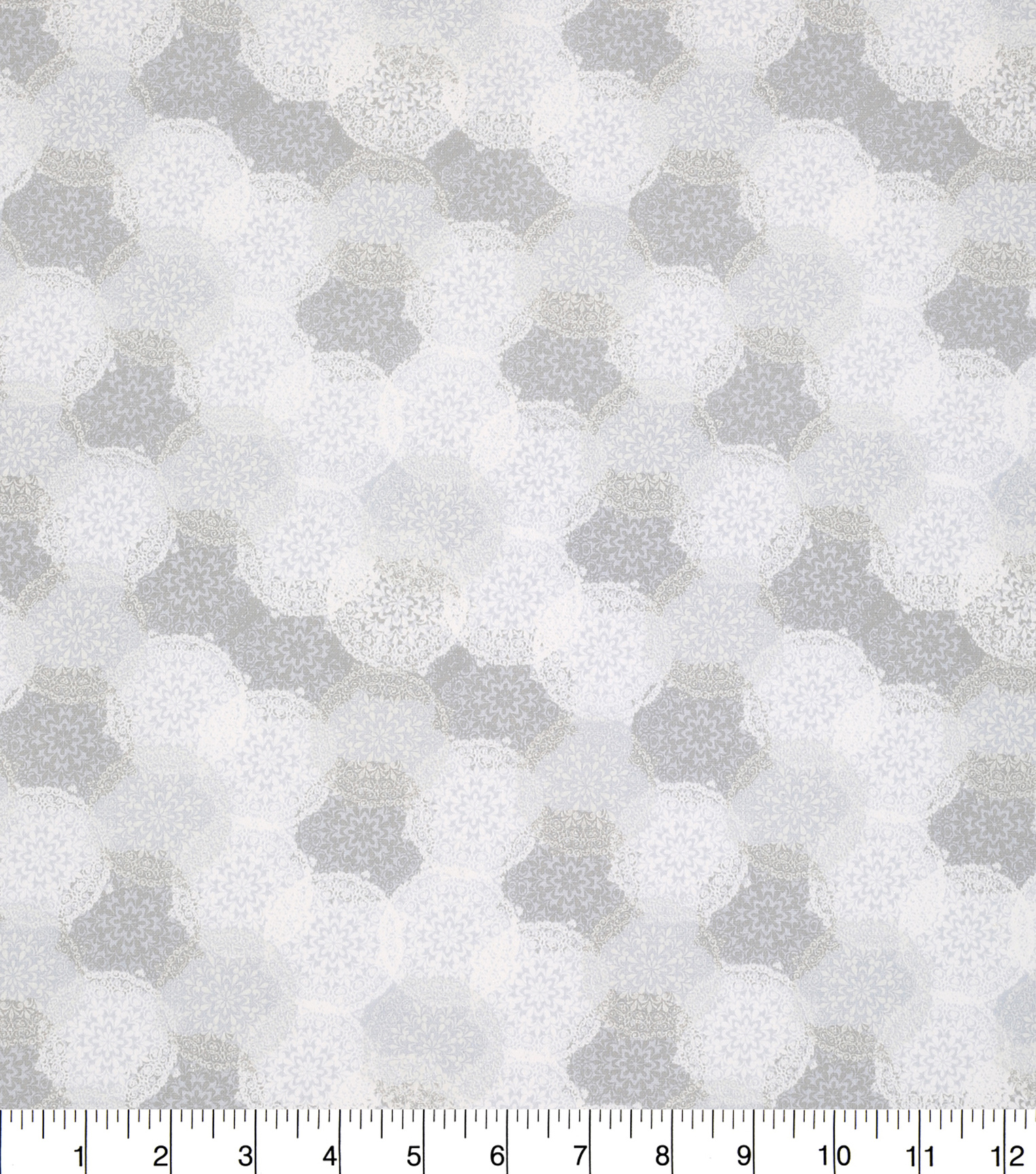 Keepsake Calico™ Cotton Fabric 43\u0022-Lace Doily White