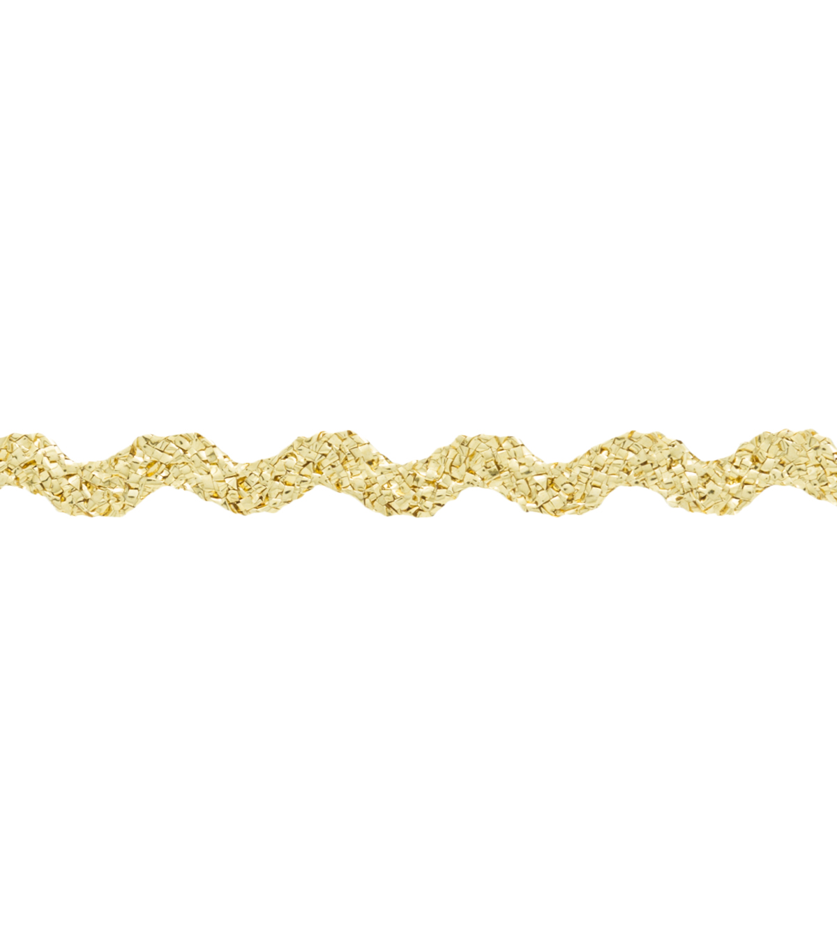Wrights 0.25\u0022 Baby Rick Rack Gold Apparel Trim