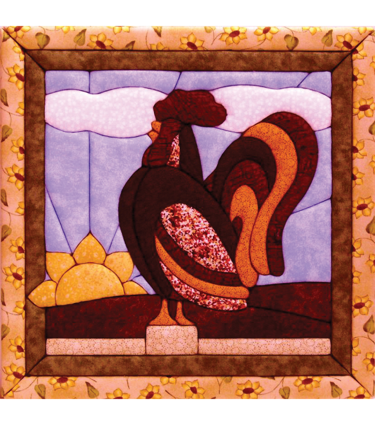 "Rooster Quilt Magic Kit-12""X12"""
