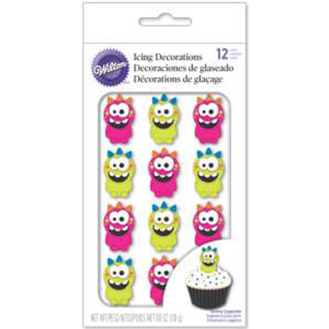 Royal Icing Decorations-Monster