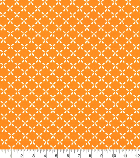 Quilters Showcase Cotton Fabric-Butterfly Orange