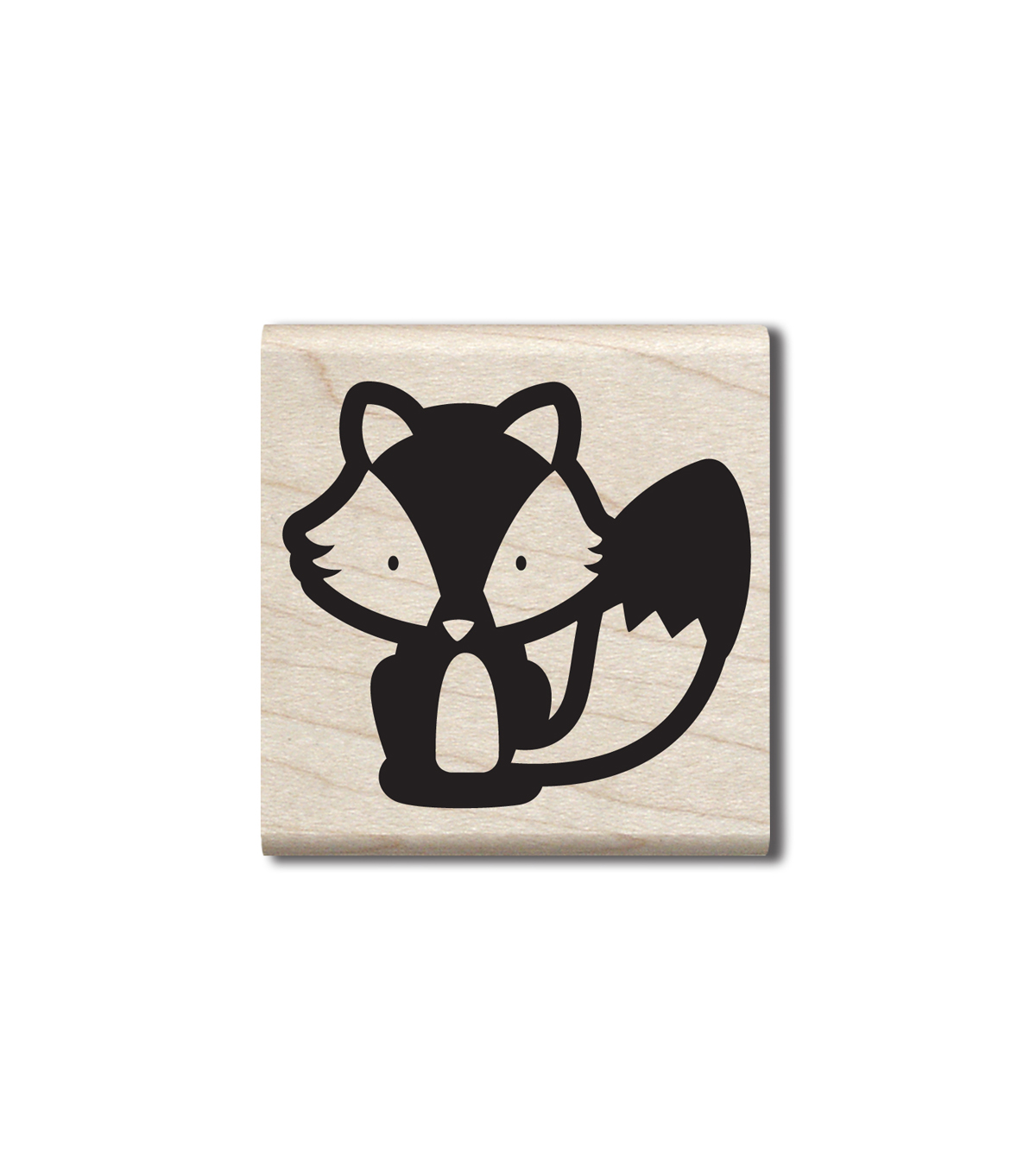 Jillibean Soup Wood Stamp-Cute Fox