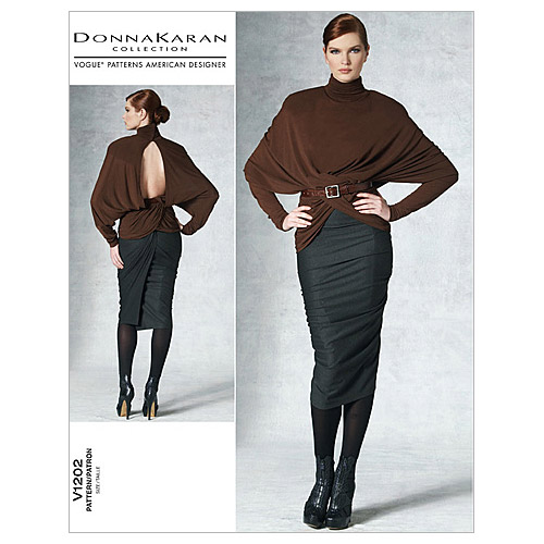 Mccall Pattern V1202 Aax (4-6-8-Vogue Pattern
