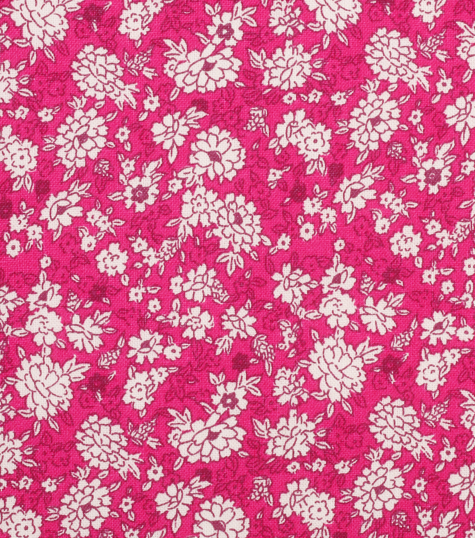 "Keepsake Calico™ Cotton Fabric 43""-Raspberry Packed Ditsy Floral"