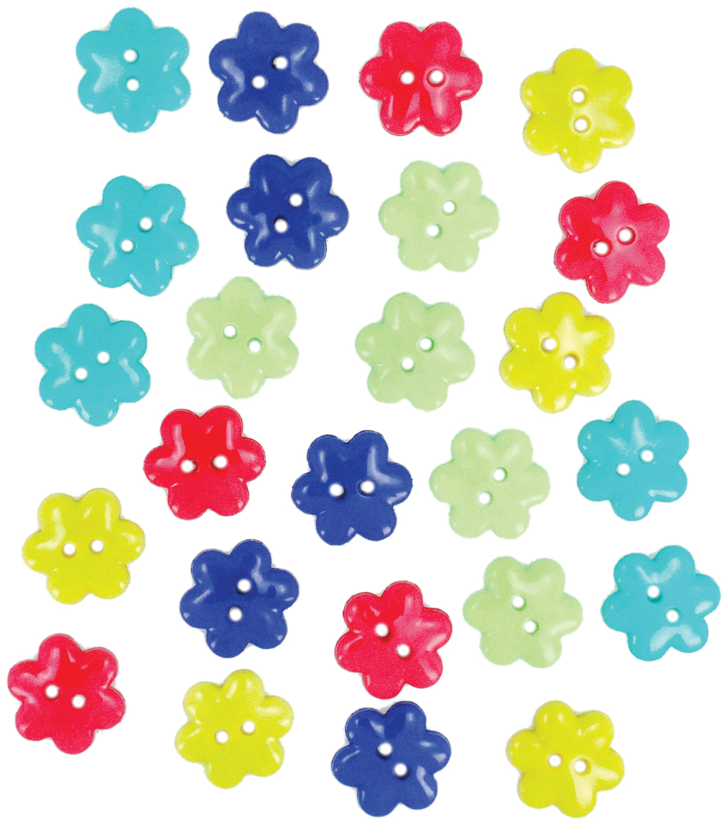 Dress It Up Embellishments-Bright Bloom