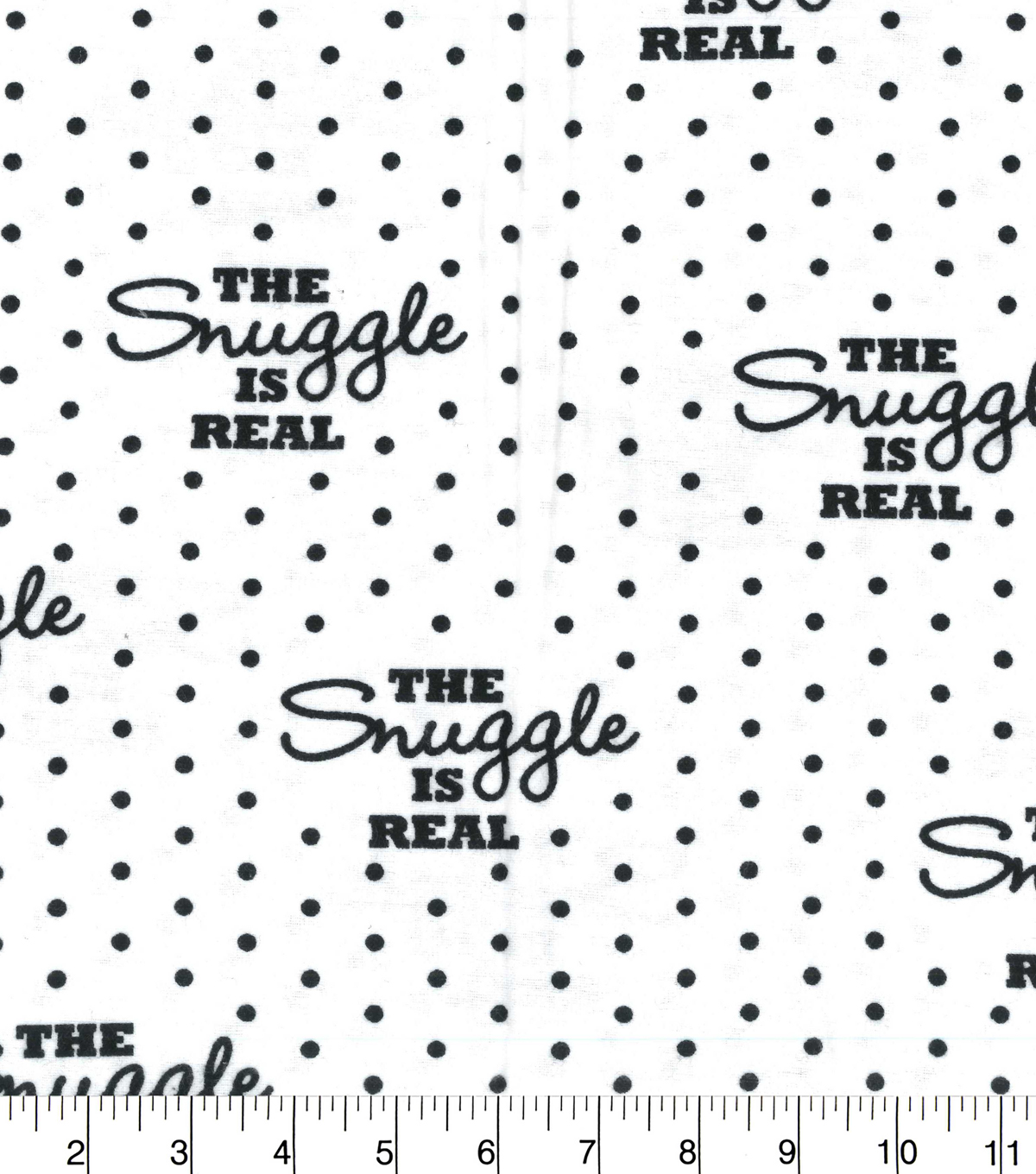 Snuggle Flannel Fabric 42\u0027\u0027-The Snuggle Is Real