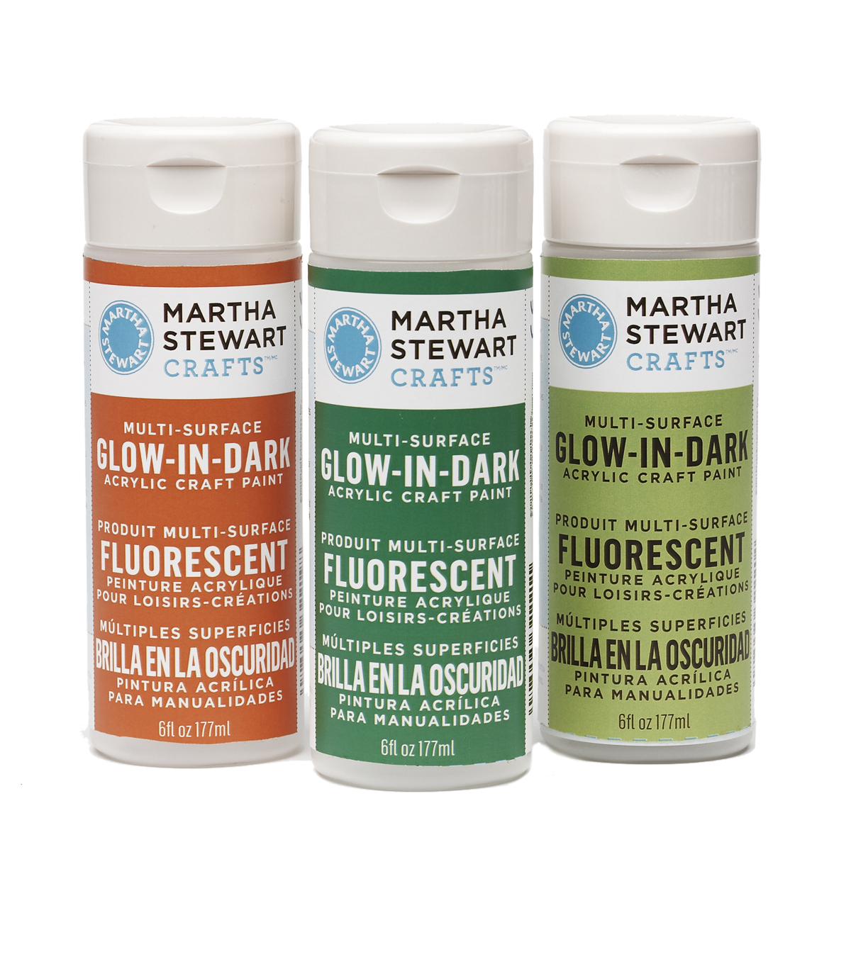Martha Stewart 6oz  Glow-in-the-Dark  Acrylic Paint