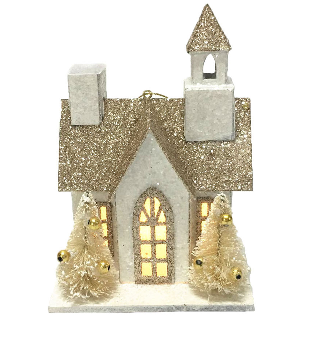 Maker\u0027s Holiday LED Paper Church-White
