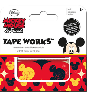 Mickey Accent Tape