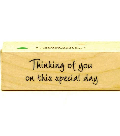 Hero Arts Rubber Stamp-Special Date