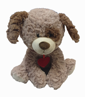 Valentine\u0027s Day 10\u0027\u0027 Plush Puppy